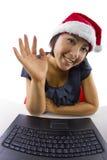 Να κουβεντιάσει στα Χριστούγεννα Στοκ Εικόνες