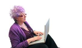 να κουβεντιάσει grandma Στοκ εικόνες με δικαίωμα ελεύθερης χρήσης
