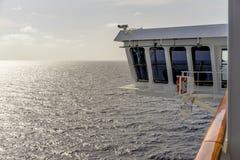 Να κολλήσει γεφυρών παρατήρησης έξω από την πλευρά της βάρκας Στοκ εικόνες με δικαίωμα ελεύθερης χρήσης