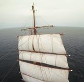 Να κυματίσει από υψηλά σε ένα tallship ή sailboat Στοκ εικόνα με δικαίωμα ελεύθερης χρήσης