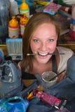 να λιμοκτονήσει καλλιτεχνών Στοκ Φωτογραφίες