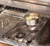 να μαγειρεψει professionaly Στοκ Εικόνα