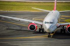 Να μετακινηθεί με ταξί αεροπλάνων Στοκ φωτογραφία με δικαίωμα ελεύθερης χρήσης