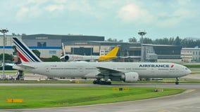 Να μετακινηθεί με ταξί Air France Boeing 777-300ER Στοκ Φωτογραφίες