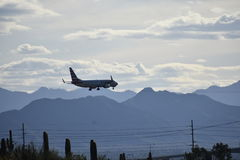 Να μπεί για μια προσγείωση Στοκ φωτογραφίες με δικαίωμα ελεύθερης χρήσης