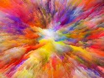 Να ξετυλίξει του υπερφυσικού χρώματος Στοκ εικόνες με δικαίωμα ελεύθερης χρήσης