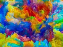 Να ξετυλίξει των χρωμάτων Στοκ εικόνες με δικαίωμα ελεύθερης χρήσης