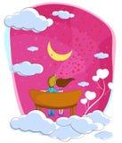 Να ονειρευτεί ζευγών αγάπης απεικόνιση αποθεμάτων