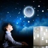Να ονειρευτεί νύχτας Στοκ Φωτογραφία