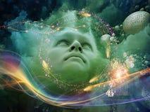 Να ονειρευτεί το μυαλό Στοκ φωτογραφία με δικαίωμα ελεύθερης χρήσης