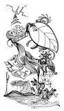 Να ονειρευτεί doodle Στοκ Φωτογραφία