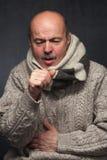 Να πάσσει από τον ιό γρίπης στοκ εικόνα