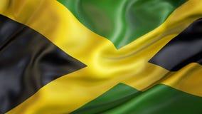 Να παραμερίσει τη σημαία της Τζαμάικας, πατριώτης Jamaika διανυσματική απεικόνιση