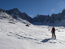 να περιοδεύσει σκι Στοκ φωτογραφίες με δικαίωμα ελεύθερης χρήσης