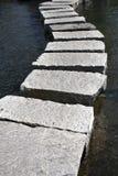 να περπατήσει πέτρες Στοκ Εικόνα