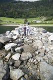 να περπατήσει πέτρες Στοκ εικόνα με δικαίωμα ελεύθερης χρήσης
