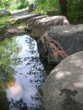 Να περπατήσει πέτρες Στοκ Φωτογραφίες
