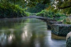 Να περπατήσει πέτρες Boxhill Surrey Αγγλία Στοκ Φωτογραφία