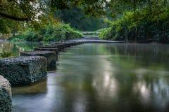 Να περπατήσει πέτρες Boxhill Surrey Αγγλία Στοκ Εικόνα