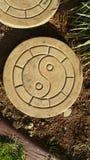 Να περπατήσει Yang Ying πέτρα Στοκ φωτογραφία με δικαίωμα ελεύθερης χρήσης