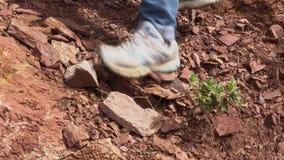 Να πραγματοποιήσει οδοιπορικό στα βουνά Πτώση πετρών φιλμ μικρού μήκους