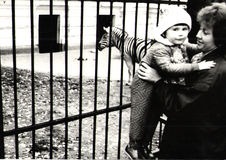 Να πραγματοποιήσει οδοιπορικό στο ζωολογικό κήπο/τη Σοβιετική Ένωση Στοκ εικόνα με δικαίωμα ελεύθερης χρήσης