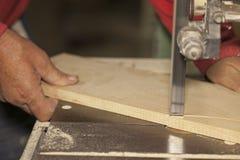 Να πριονίσει ξυλουργών Στοκ εικόνα με δικαίωμα ελεύθερης χρήσης