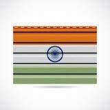 Να πλαισιώσει της Ινδίας εικονίδιο επιχείρησης προϊόντων απεικόνιση αποθεμάτων
