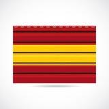 Να πλαισιώσει της Ισπανίας εικονίδιο επιχείρησης προϊόντων διανυσματική απεικόνιση