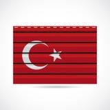 Να πλαισιώσει της Τουρκίας εικονίδιο επιχείρησης προϊόντων διανυσματική απεικόνιση