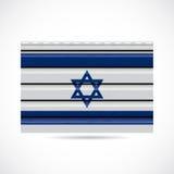 Να πλαισιώσει του Ισραήλ εικονίδιο επιχείρησης προϊόντων απεικόνιση αποθεμάτων