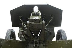 Να στοχεύσει και howitzers που χρεώνουν το σύστημα Στοκ Εικόνες