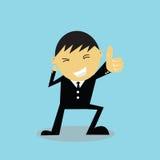 Να συγχάρει χεριών επιχειρηματιών Στοκ Εικόνες