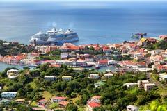 Να ταξιδεψει στη Γρενάδα Στοκ Εικόνες
