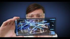 Να τυλίξει επιστημόνων μέσω των βίντεο του εσωτερικού ανθρώπινων σωμάτων απεικόνιση αποθεμάτων