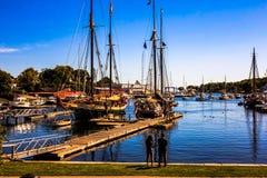 Να φανεί έξω ένα λιμάνι Μαίην του Κάμντεν στοκ εικόνα με δικαίωμα ελεύθερης χρήσης