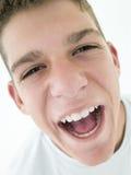 να φωνάξει αγοριών εφηβικό Στοκ φωτογραφίες με δικαίωμα ελεύθερης χρήσης