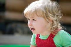 Να φωνάξει λίγη άποψη κινηματογραφήσεων σε πρώτο πλάνο προσώπου παιδιών στοκ φωτογραφίες με δικαίωμα ελεύθερης χρήσης