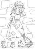 Να φωνάξει cinderella Διανυσματική απεικόνιση
