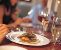 να δειπνήσει πρόστιμο Στοκ Φωτογραφία