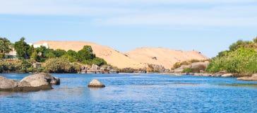 Νείλος Αίγυπτος Στοκ εικόνες με δικαίωμα ελεύθερης χρήσης