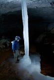 Νεαροί για τη σπηλιά Στοκ Εικόνα