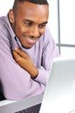 Νεαρός άνδρας, αφροαμερικάνος Στοκ Φωτογραφία