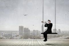 Νεαρός άνδρας mime r στοκ φωτογραφία με δικαίωμα ελεύθερης χρήσης