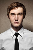 Νεαρός άνδρας Portait Στοκ Εικόνες