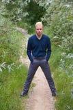 Νεαρός άνδρας με τέτοιο τρόπο ώστε Στοκ φωτογραφίες με δικαίωμα ελεύθερης χρήσης