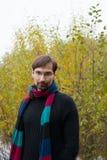 Νεαρός άνδρας με τα γυαλιά Στοκ φωτογραφίες με δικαίωμα ελεύθερης χρήσης