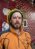 Νεαρός άνδρας με τα dreadlocks Στοκ Φωτογραφίες