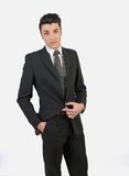 Νεαρός άνδρας μόδας στοκ εικόνα