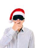Νεαρός άνδρας στη μάσκα ματιών Στοκ Εικόνες